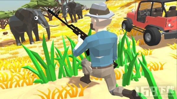 非洲草原狩猎