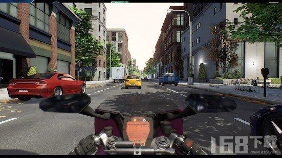 交通狂热摩托