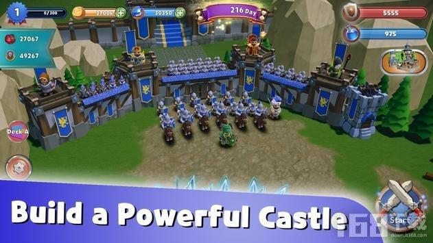 3D王国城堡防御