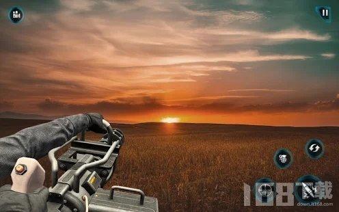 机枪射手三维战斗模拟器