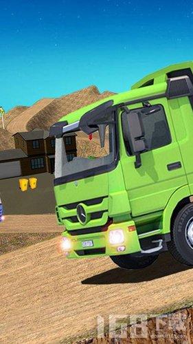 越野垃圾卡车驾驶