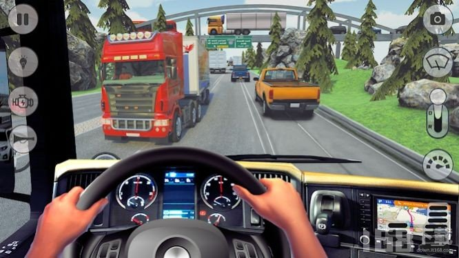 卡车公路竞赛模拟器