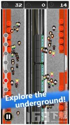 像素地铁模拟器