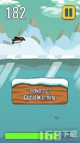 南极洲的企鹅