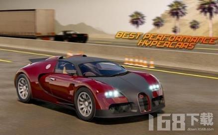 现代跑车驾驶