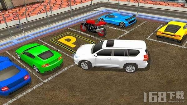普拉多停车驾驶手机版