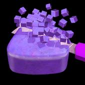 肥皂切割立方体
