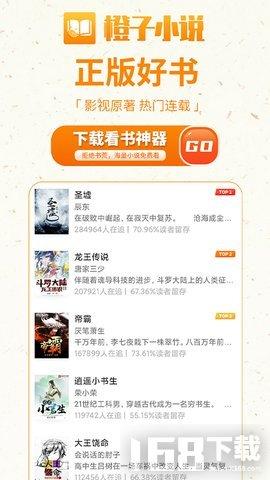 橙子小说免费阅读器