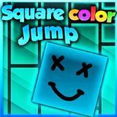 彩色方块跳