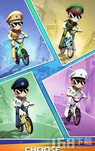 小辛格姆自行车赛手游