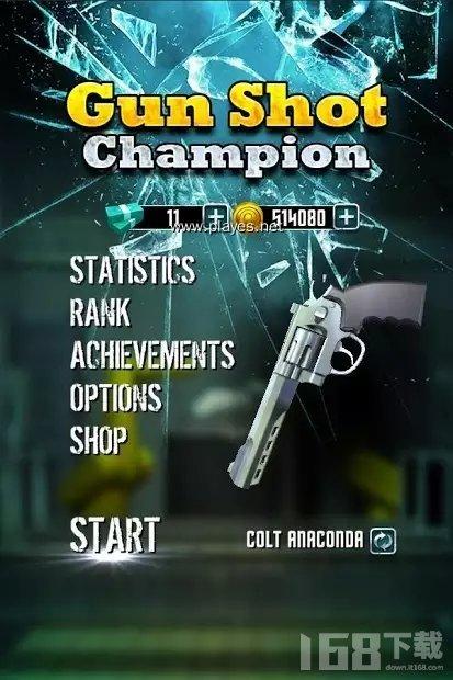 枪射击冠军