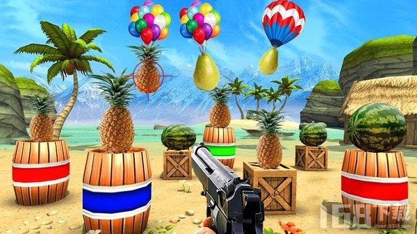 菠萝射击3D