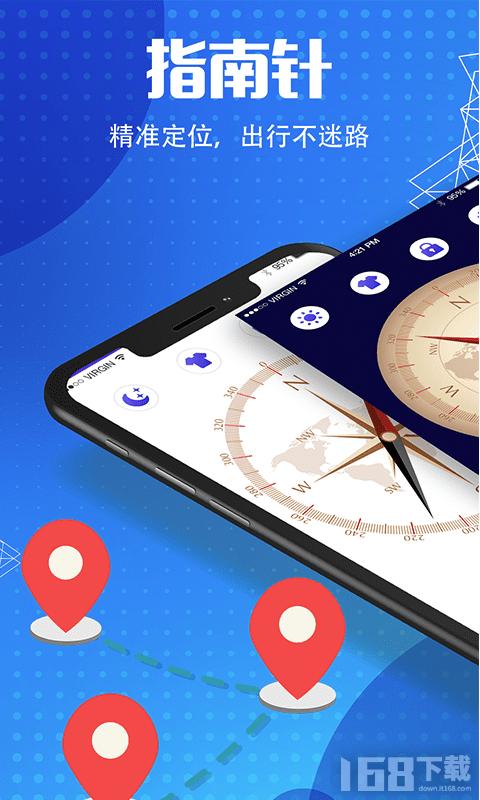 户外导航指南针