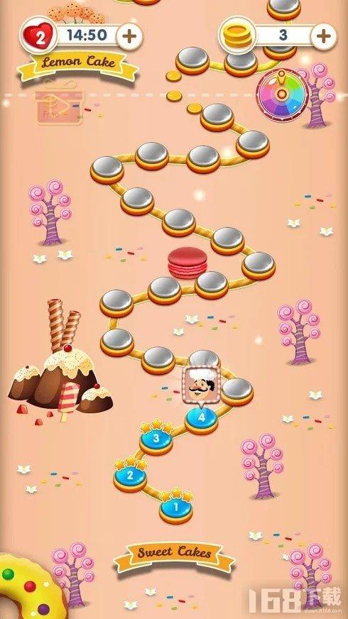 蛋糕甜点消消乐