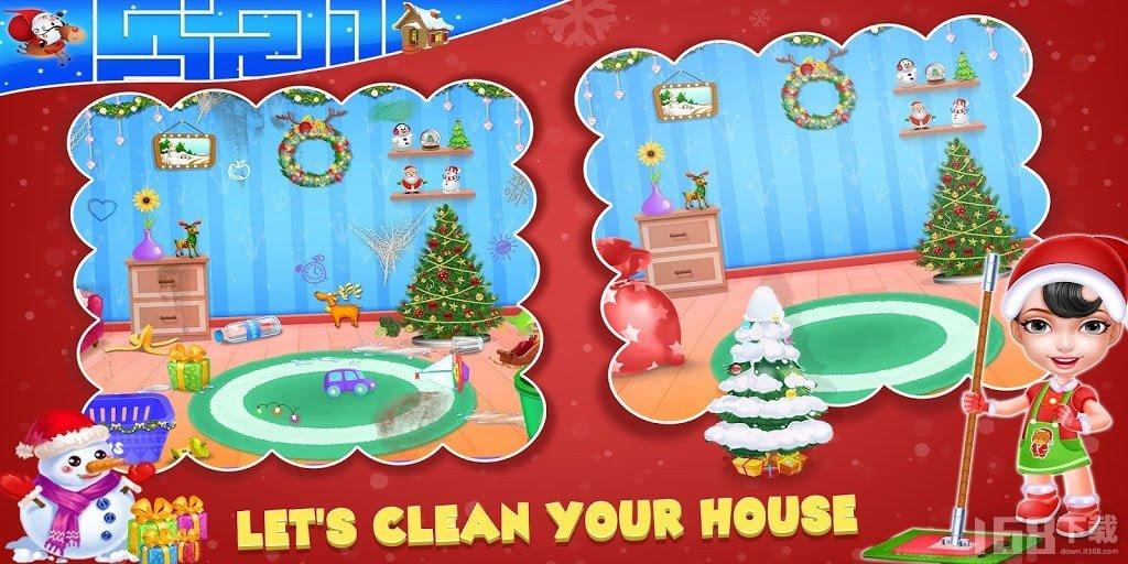 圣诞家庭清洁