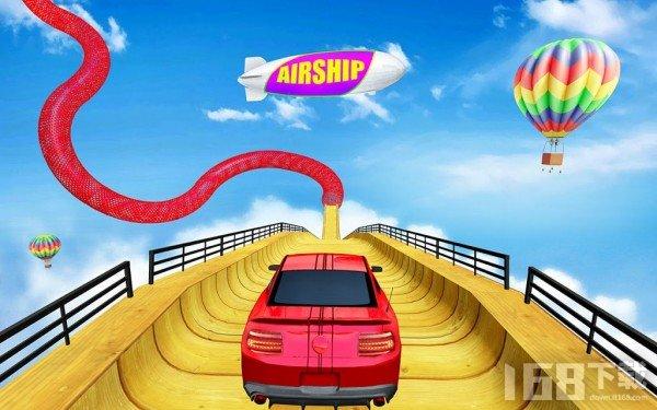 坡道汽车特技驾驶