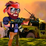 金属打击士兵