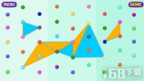 三角形线点