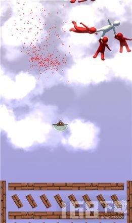 人类空中跌落