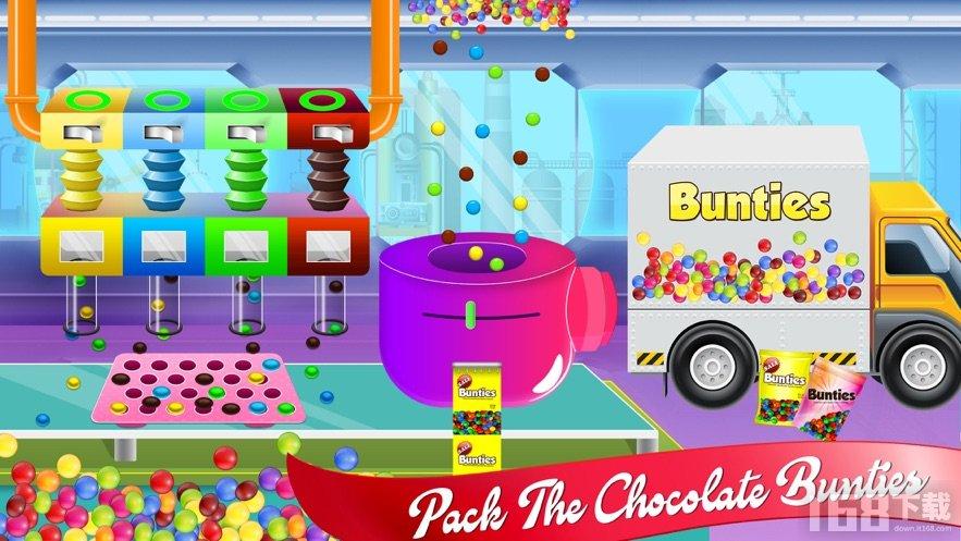 巧克力糖果工厂烘烤