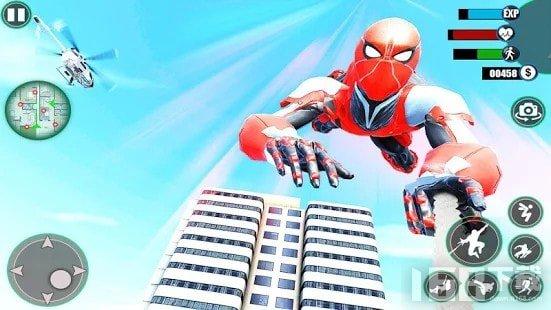 惊人的蜘蛛钢铁英雄