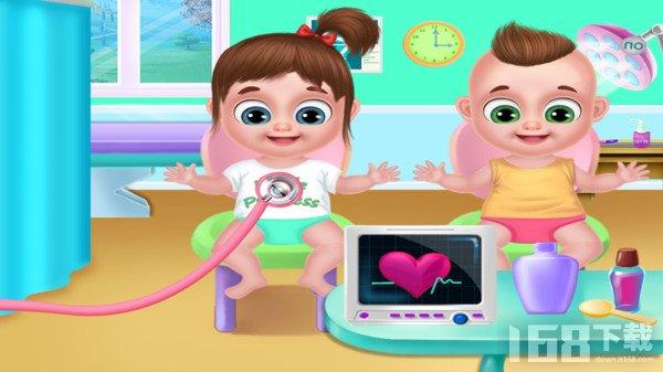 龙凤胎宝宝护理