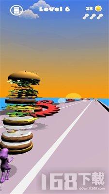 画个汉堡包快跑