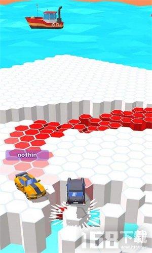 汽车浮冰漂移3D