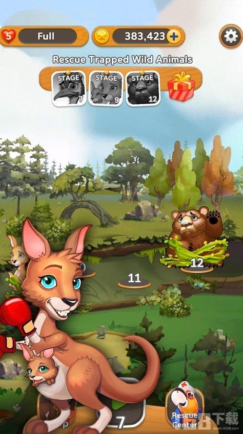 动物营救行动游戏