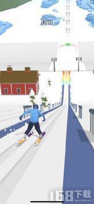 滑雪跳跃3D