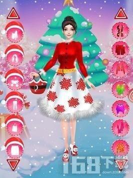 圣诞晚会公主装扮