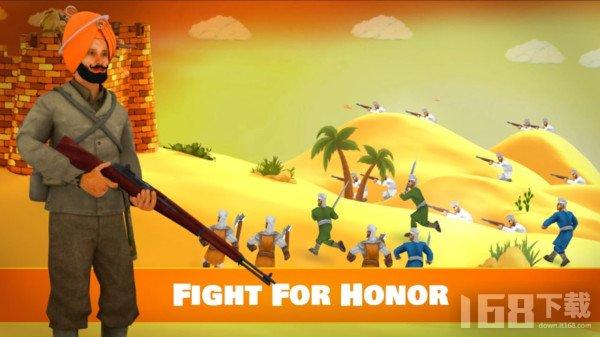 沙漠堡垒之战
