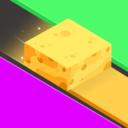 彩色卷方块版