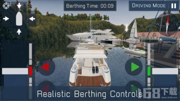 码头泊船模拟器