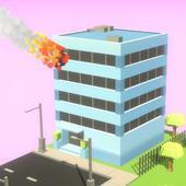 流星炸毁城市