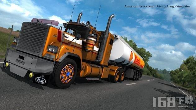 大型卡车货物驾驶模拟