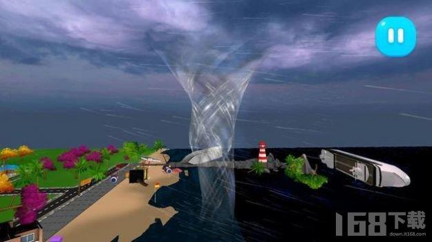 雷雨龙卷风模拟