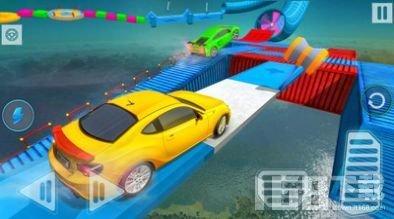 巨型坡道超级汽车