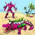 鳄鱼机器人模拟
