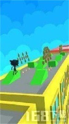 黑猫跳跃无尽跑酷