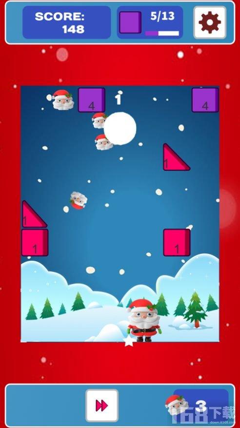 碎砖机圣诞老人