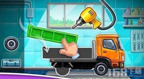 盖房子卡车