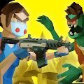 两个家伙与僵尸3D