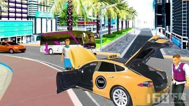 出租车逼真驾驶