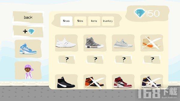 运动鞋游戏2077