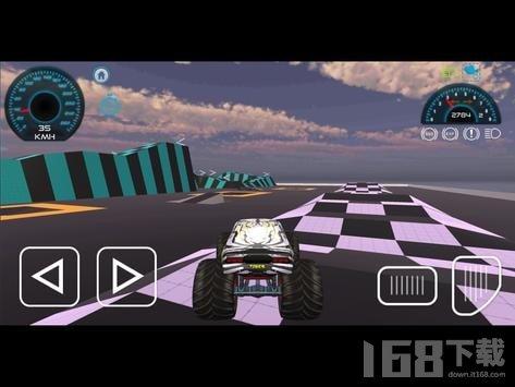 3D怪物卡车模拟器
