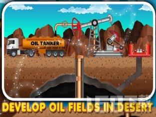 石油开采厂建设