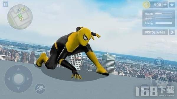黄色蜘蛛英雄