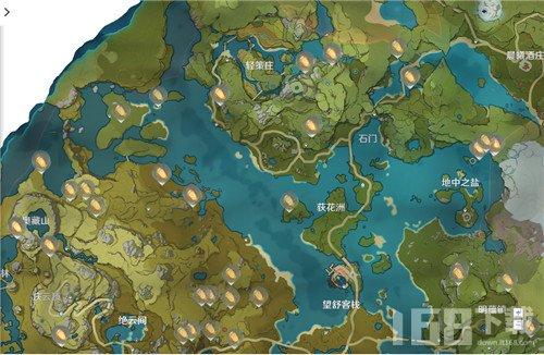 原神石珀分布位置一览 石珀刷新及采集位置详情