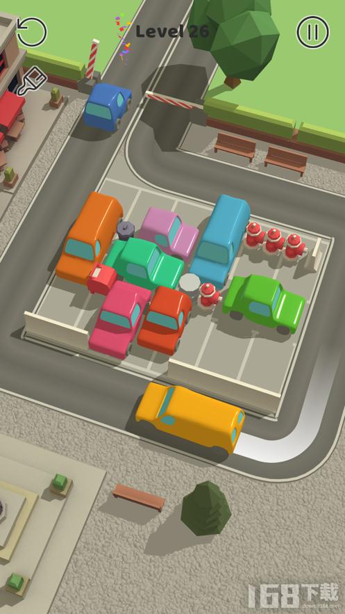 开出停车场